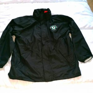 MM Club polor fleece black