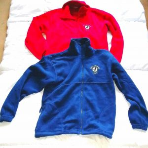 MM Club red and blue fleece