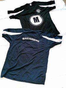 MM club cool t shirts navy and black