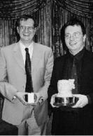 Bristol 2001 - Magnum winner Gavin Fuller with runner up Ken Emond