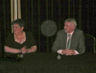 Shrewsbury 2014 - The winner Ann Hegarty and runner up David Edwards